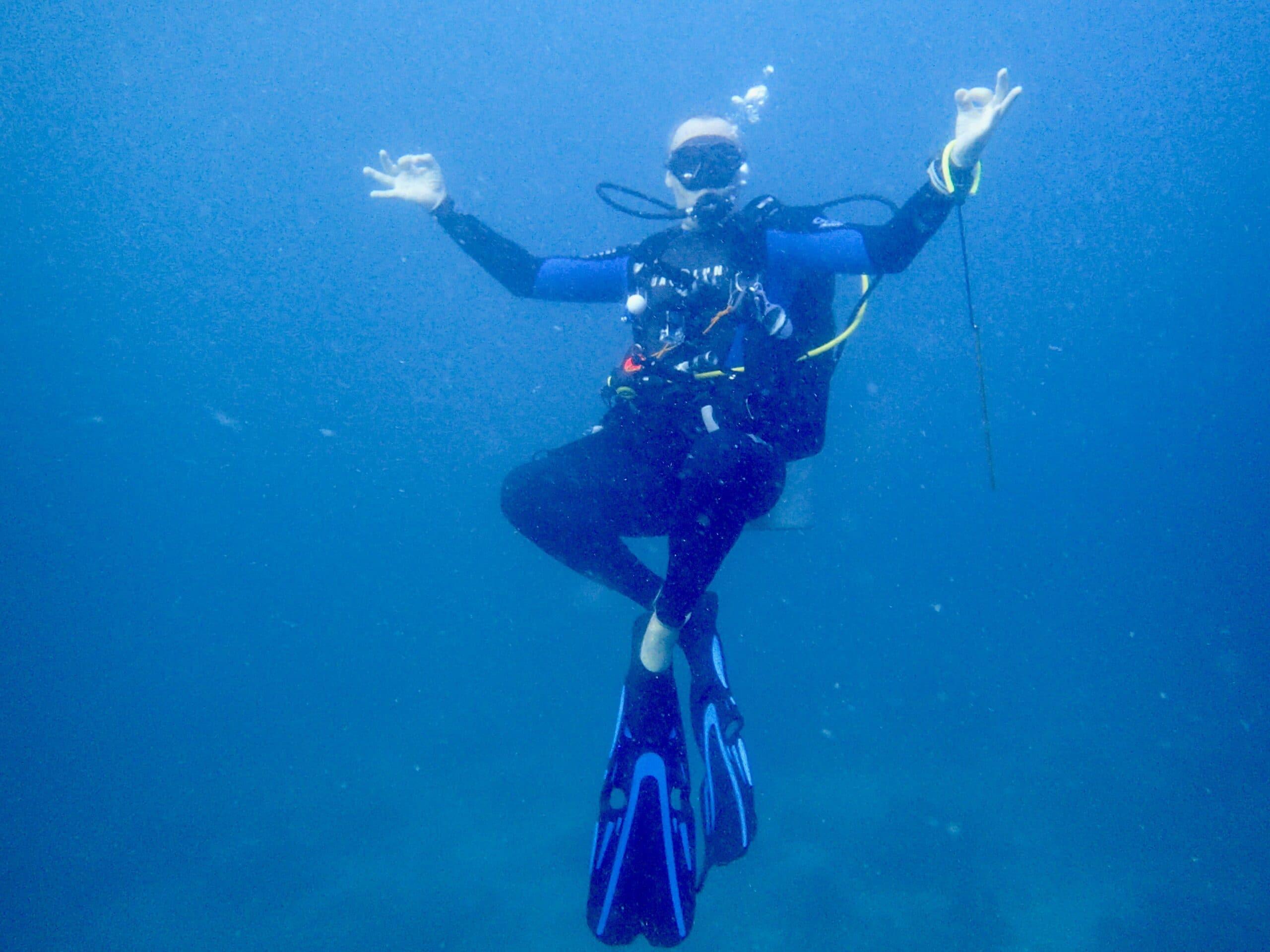 Comment palmer plongée